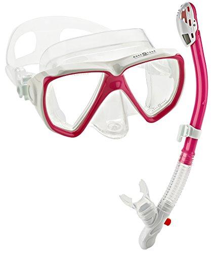Aqua Lung Sport Win Purge Mask Ultra Dry Snorkel Set