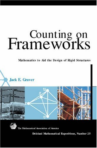 Counting on Frameworks: Mathematics to Aid the Design of Rigid Structures (Dolciani Mathematical Expositions)