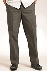 Pure Cotton Chinos with Adjustable Waist [T17-6366B-S]