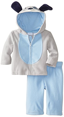 Kids Headquarters Baby-Boys Newborn Dog Jacket With Pull On Pants, Blue, 6-9 Months front-986637