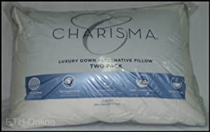 Amazon Com Charisma Jumbo Luxury Down Alternative Pillows