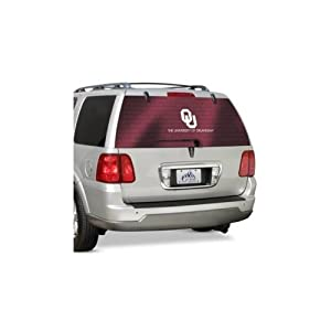 University of Oklahoma Sooners - Rear Window Tint
