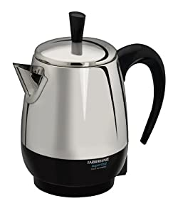 Farberware Automatic Coffee Maker Instructions : FARBERWARE MILLENNIUM Automatic STAINLESS STEEL PERCOLATOR Coffee Maker Pot eBay