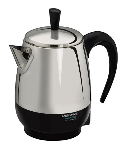 Review Farberware FCP240 2-4-Cup Percolator, Stainless Steel