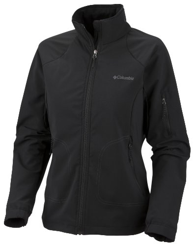 Columbia Silcox Softshell Jacket Black - X Large