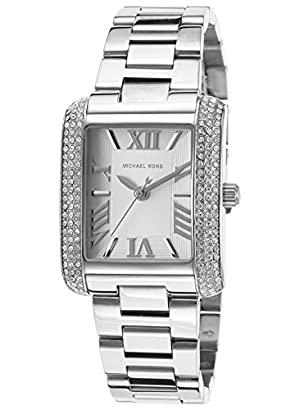 6285774306 Michael Kors Watches Petite Emery Silver Tone Watch (Silver ...
