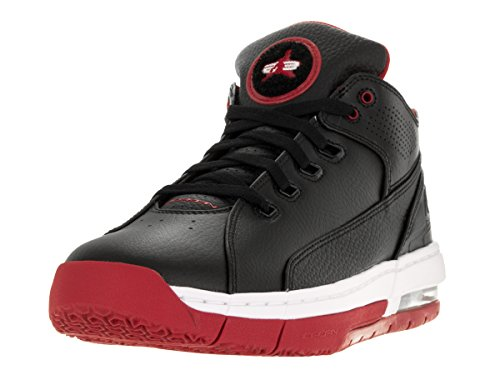 Nike Jordan Men's Jordan Ol'School Low Black/Gym Red/White Basketball Shoe 10 Men US (Black Red White Jordans compare prices)