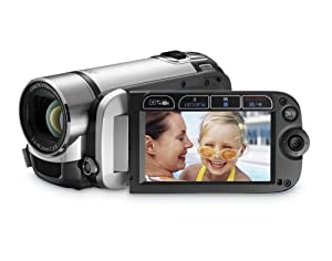 Canon FS200 Flash Memory Camcorder w/41x Advanced Zoom (Misty Silver) - 2009 MODEL