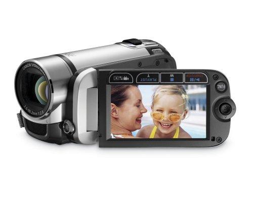 Canon FS200 Flash Memory Camcorder w/41x Advanced Zoom (Misty Silver) - 2009 MODEL