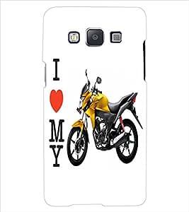 ColourCraft Bike Back Case Cover for SAMSUNG GALAXY E5