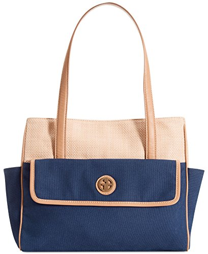 giani-bernini-handbag-straw-mothers-day-tote-navy