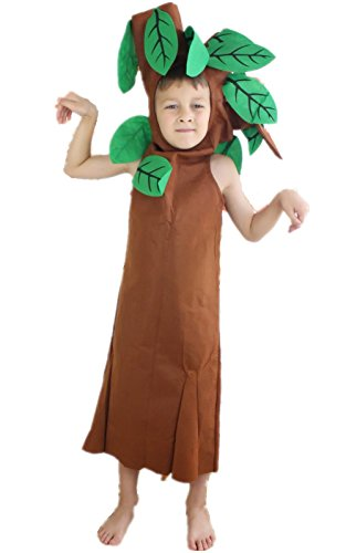 Tree Unisex Costume Set for Party Children Clothing 4-14year