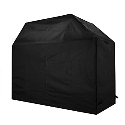 VicTsing Grill Cover, Medium 58-Inch Waterproof Heavy Duty Gas BBQ Grill Cover for Weber, Holland, Jenn Air, Brinkmann and Char Broil