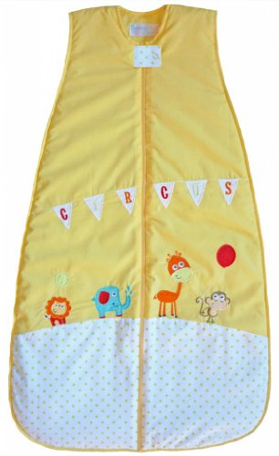 The Dream Bag Baby Sleeping Bag Circus COTTON 6-18 Months 1.0 TOG - Yellow - 1