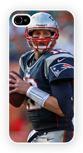 Tom Brady New England Patriots Sports, iPhone 5 / 5S cassa del telefono mobile lucido