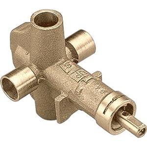 Moen 62720 1/2 Inch Sweat (Copper-to-Copper) Pressure Balancing Rough-In Valve w, N/A