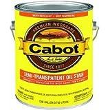 Cabot Deck & Siding Stain Oil Formula New Cedar Semi Transparent 1 Gl