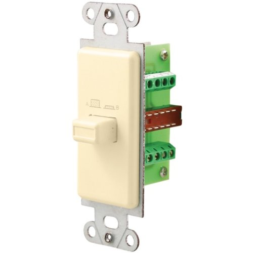 New-Pro-Wire Iw-101-A Source/Speaker Switch (Almond) - Oemiw101A