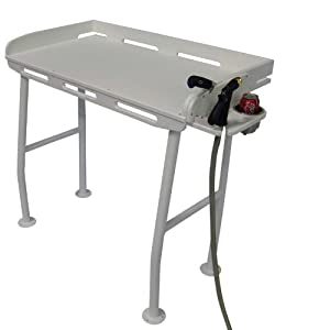 Dock fish cleaning fillet table boating for Fish cleaning tables