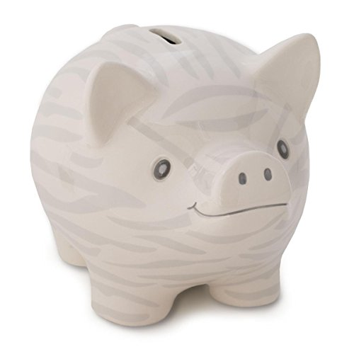 Nat and Jules Piggy Bank, Zebra