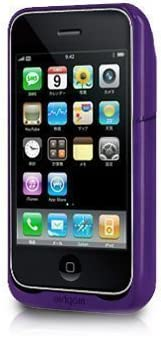 Juice Pack Air for iPhone 3G パープル