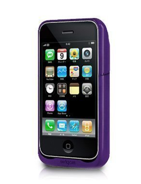 正規品 mophie Juice Pack Air for iPhone 3G パープル MOP-PH-4