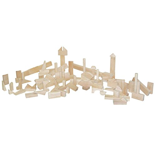 Wood Designs WD60300 Nursery Blocks - 14 Shapes, 93 Pieces