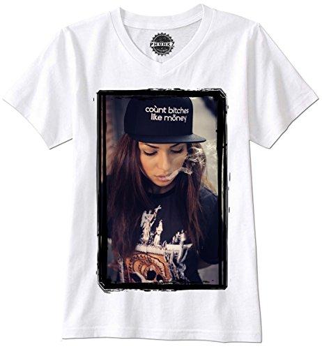 PHUNKZ T-Shirt DOPE KUSH SEXY GIRL PORN GOGO WASTED YOUTH LAST KINGS
