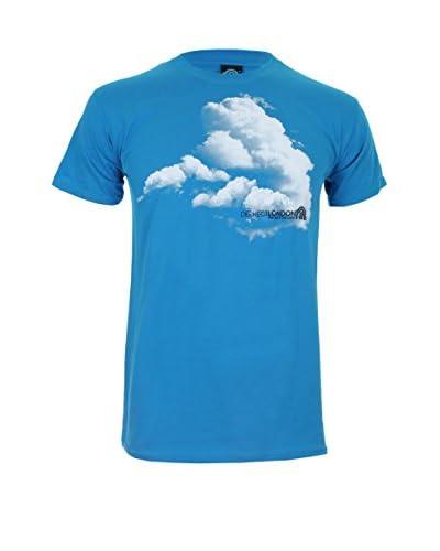 DEPHECT T-Shirt Sky'S The Limit blau