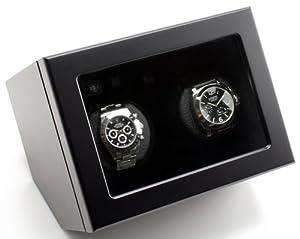 Design Heiden Prestige Dual Watch Winder in Black