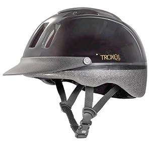 Troxel Sport Equestrian Helmet, Black, Medium