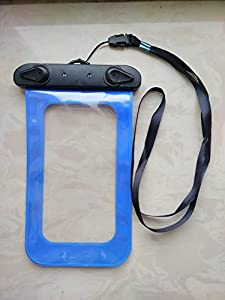 Waterproof Underwater Dry Pouch Bag Case Cover For All Cell Phone(up to 6.0 inch diagonal)