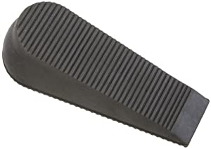 "National Hardware V338 6"" Super Wedge Door Stops in Gray"