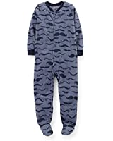 Carter's Big-Boys' 1 Pc Micro Fleece Footed Sleeper Pajamas