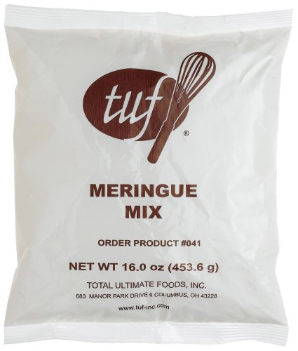 Total Ultimate Foods Meringue Dessert Mix, 16-Ounce Units (Pack of 6)