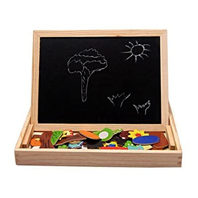 Absolute Animal Magnetic Puzzle Wooden - Multifunction Writing Drawing Toys Board for the Best Learning & Education from Absolute Shop