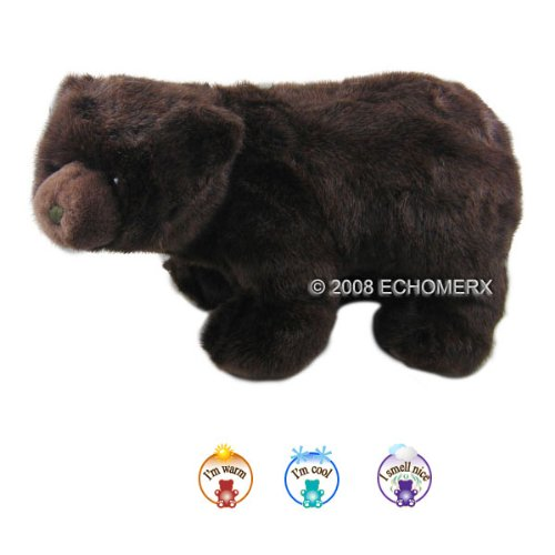Aroma Grizzly Bear - Aromatherapy Stuffed Animal - Hot And Cold Therapy