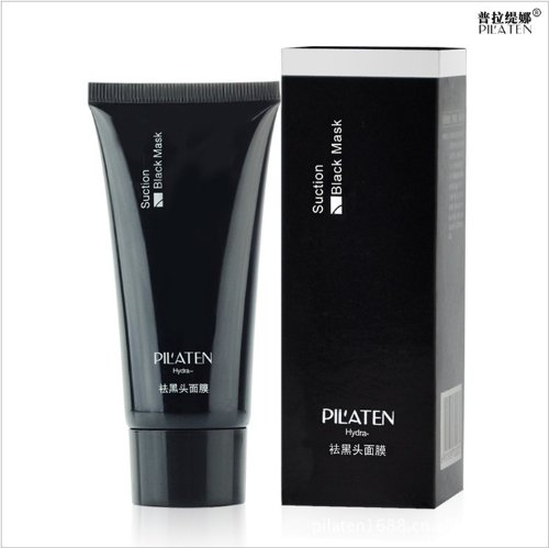 PILATEN blackhead remover,Tearing style Deep Cleansing purifying peel off the Black head,acne treatment,black mud face mask 60