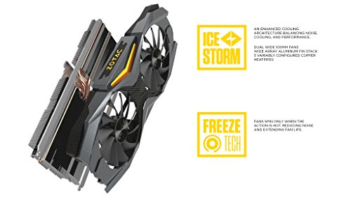 Zotac GeForce GTX 1070 8 GB AMP! Edition Video Card (ZT-P10700C-10P