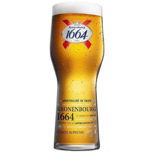 Kronenbourg Pint Glasses CE 20oz / 568ml (Pack of 4)