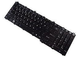 Replacement AEBL6U00110-US Laptop Keyboard for Toshiba L655 L655D C655D L650D