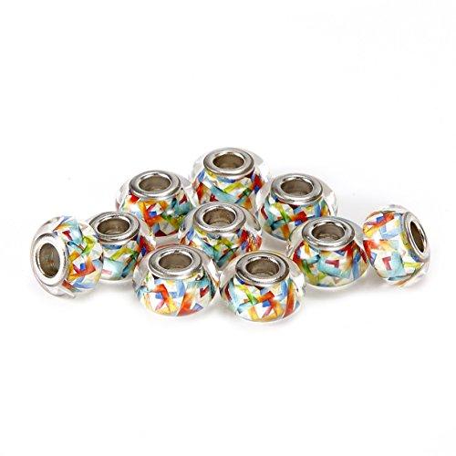 brcbeads-10pcs-silver-plate-colorful-style-1-epoxy-enamel-murano-lampwork-european-glass-crystal-cha