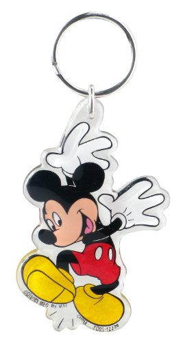 Disney Mickey Hands Up Lucite Key Ring