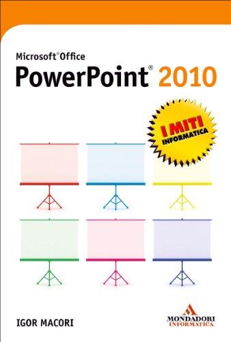 Igor Macori - Microsoft Office PowerPoint 2010