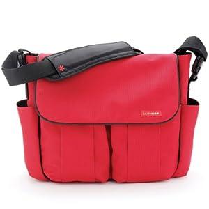 Skip Hop SKI-DASH-RED - Bolso para pañales y cambiador, color rojo de Skip Hop - BebeHogar.com