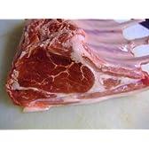 チルド ラム(子羊)骨付き背肉(背骨なし、8リブ)・チルド・約0.7~0.8kg、 フレンチラック 真空パック オーストラリア
