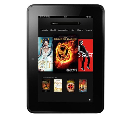 Kindle Fire HD, 17 cm (7 Zoll), Dolby-Audio-System, Dualband-WLAN, 16 GB - Mit Spezialangeboten