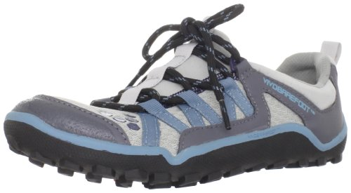 Vivobarefoot Women's Breatho Trail L 3 Light Grey/Blue Trainer VB210029MGRYDBL 9 UK, 42 EU