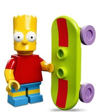 Lego 71005 The Simpsons Series Bart Simpson Character Minifigures - 1