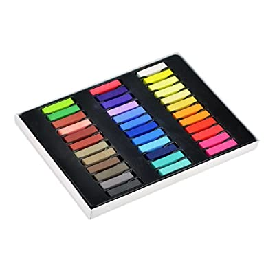 Best Cheap Deal for New 36 Colors Non-toxic Temporary Hair Chalk Dye Soft Pastels Salon Kit With Box by bestfavor from bestfavor - Free 2 Day Shipping Available